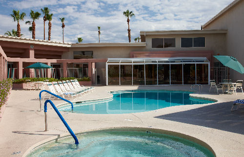Plaza Resort and Spa Apartments, Palm Springs, Studios and 1 Bedroom